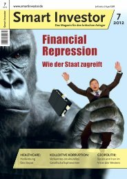 Financial Repression - Smart Investor
