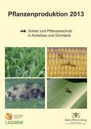 Pflanzenproduktion 2013 - Sorten und Pflanzenschutz in Ackerbau ...