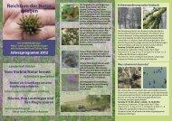 Reichtum der Natur erleben - agrar.umweltbüro Pape