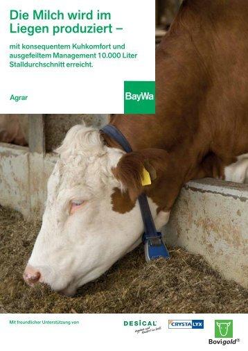 Die Milch wird im Liegen produziert – - BayWa AG