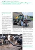 Die Milch wird im Liegen produziert – - BayWa AG - Seite 5