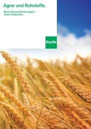 Background: Agrar und Rohstoffe - BayWa