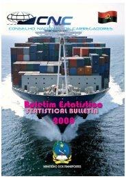 CNC_Boletim Estatístico de 2008 - CNC Angola