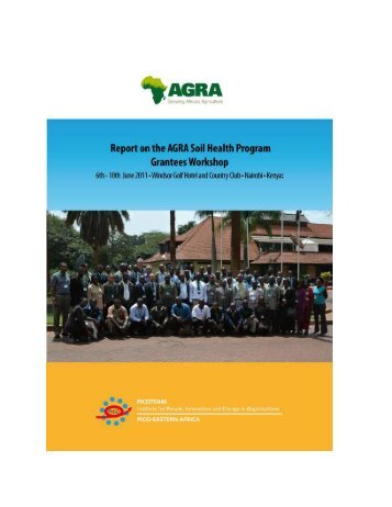 AGRA Soil Health Programme Grantees workshop - CABI