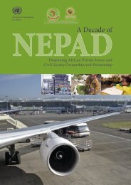 A Decade of NEPAD - Economic Commission for Africa - uneca