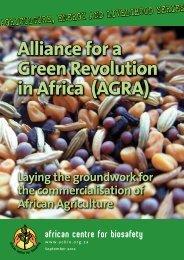 AGRA - Critical Information Collective