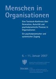Menschen in Organisationen - Prof. Dr. Burkard Sievers - Bergische ...