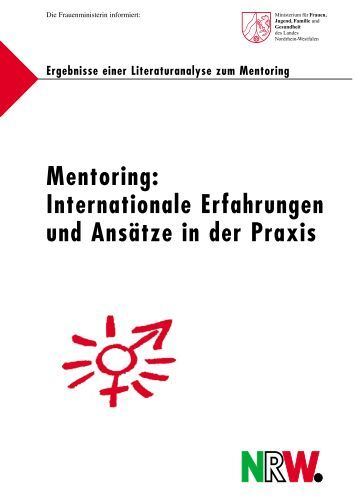 Mentoring - KIM – Kompetenz im Management - Landesregierung ...