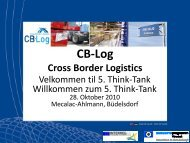 Präsentation Think Tank 28.10.2010 - CB-Log