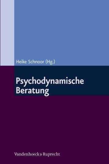 Psychodynamische Beratung - E-cademic