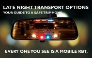 LATE NIGHT TRANSPORT OPTIONS - North Sydney Council
