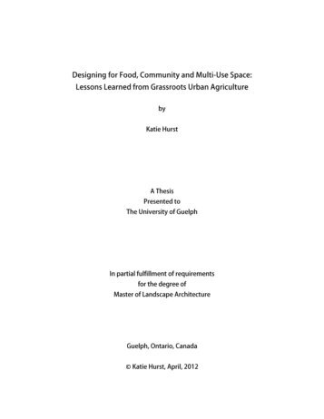 thesis final.pdf - University of Guelph