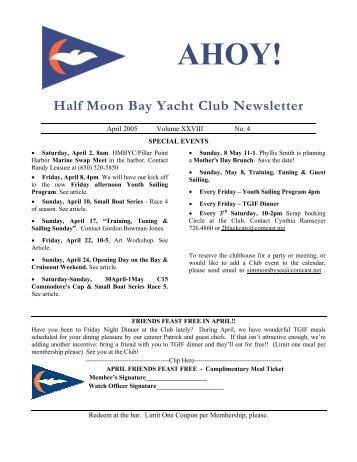 Ahoy! - Half Moon Bay Yacht Club