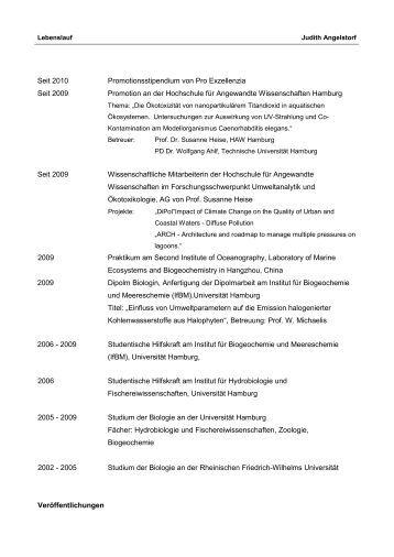 lebenslauf als pdf - Ausformulierter Lebenslauf Muster