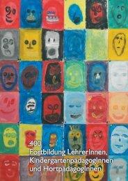 400 Fortbildung LehrerInnen, KindergartenpädagogInnen und ...