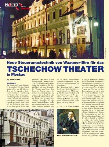 44 Tschechow Theater in Moskau Neue Steuerungstechnik von