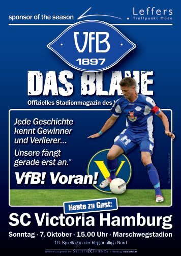 Das Blaue - Saison 2012/2013 #5 - VfB Oldenburg