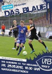 Das Blaue - Saison 2011/2012 - VfB Oldenburg