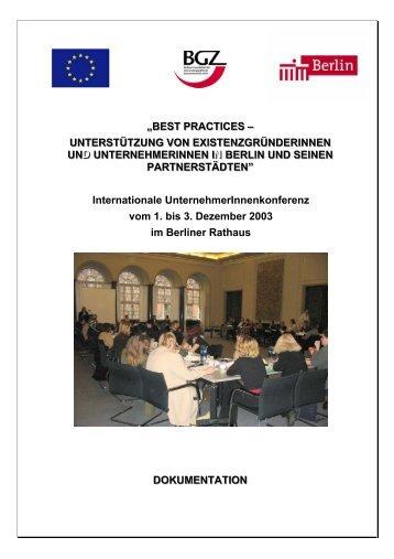 Deutsch - BGZ Berliner Gesellschaft für internationale ...