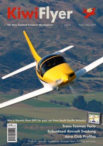 Trans Tasman Furio Subsidised Aircraft Tracking Aero ... - KiwiFlyer