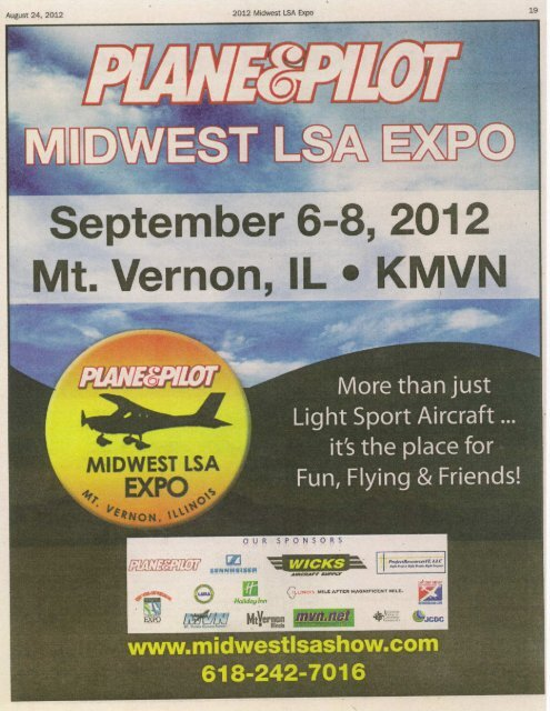September 6-8, 2012 - Midwest LSA Show