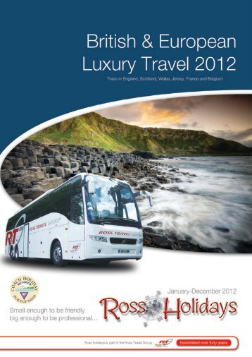 Download the 2012 holiday brochure! - Ross Travel Group