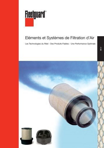 Air Filtration Line Brochure LI33090.indd - cumminsfiltration.com