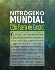 mundial nitrógeno - Revista Ciencia y Trabajo
