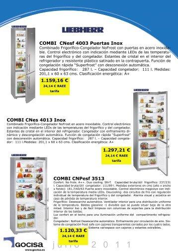 combi cn 3513 - Gocisa