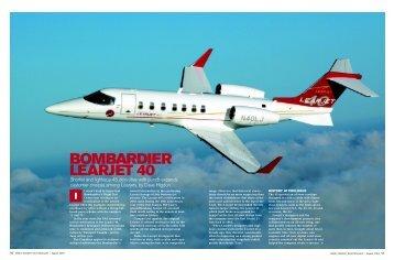 BOMBARDIER LEARJET 40 - AvBuyer.com