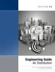 Engineering Guide Air Distribution - Price HVAC