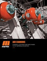 Martin Engineering | Air Cannons | L3748