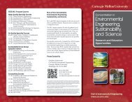 EESS Brochure - Civil and Environmental Engineering - Carnegie ...
