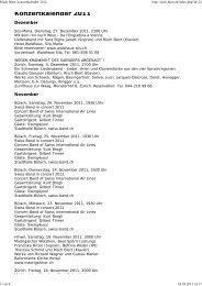 Risch Biert: konzertkalender 2012