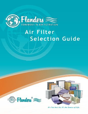 Air Filter Selection Guide - Flanders Corporation