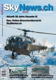 Aktuell: 50 Jahre Alouette III Neu: Online ... - SkyNews.ch