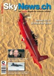 Aktuell: PC-21 an Dubai Air Show - SkyNews.ch