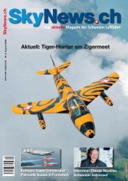 Aktuell: Tiger-Hunter am Zigermeet - SkyNews.ch