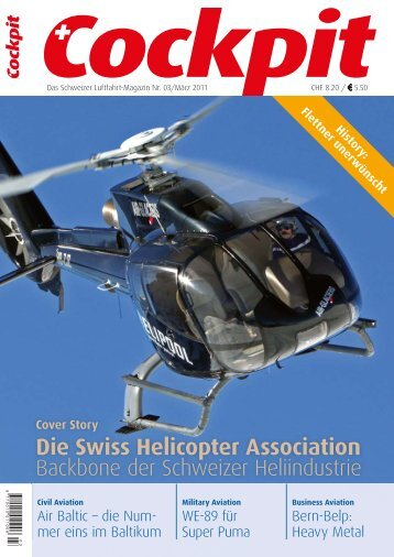 Die Swiss Helicopter Association - Cockpit