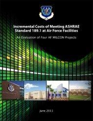 Air Force ASHRAE Study