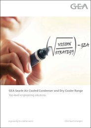 GEA Searle Air Cooled Condenser and Dry Cooler Range Top-level ...