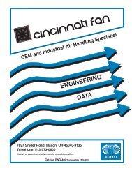 ENGINEERING DATA - Cincinnati Fan