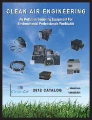 SouRCE SAmPLINg EquIPmENt - CleanAir - Clean Air Engineering