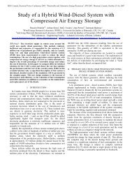 Study of a Hybrid Wind-Diesel System with Compressed Air Energy ...