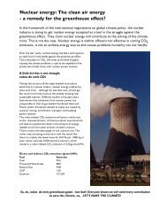 Nuclear energy: The clean air energy - a remedy for the ... - Antenna