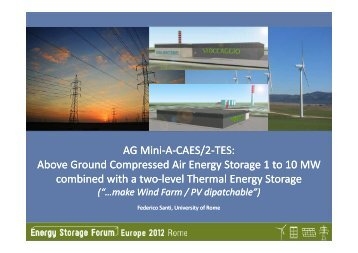 AG Mini-A-CAES/2-TES: Above Ground Compressed Air Energy Storage 1 ...