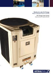 Air Energy heat pump Bomba de calor Air Energy - James White Pools