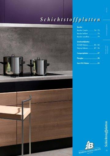 Schichtstoffplatten - Behrens-Wöhlk-Gruppe