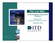 FDI and R&D - EU-Japan Centre for Industrial Cooperation