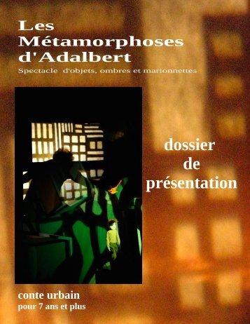 dossier de présentation Les Métamorphoses d ... - Espace Art Nature